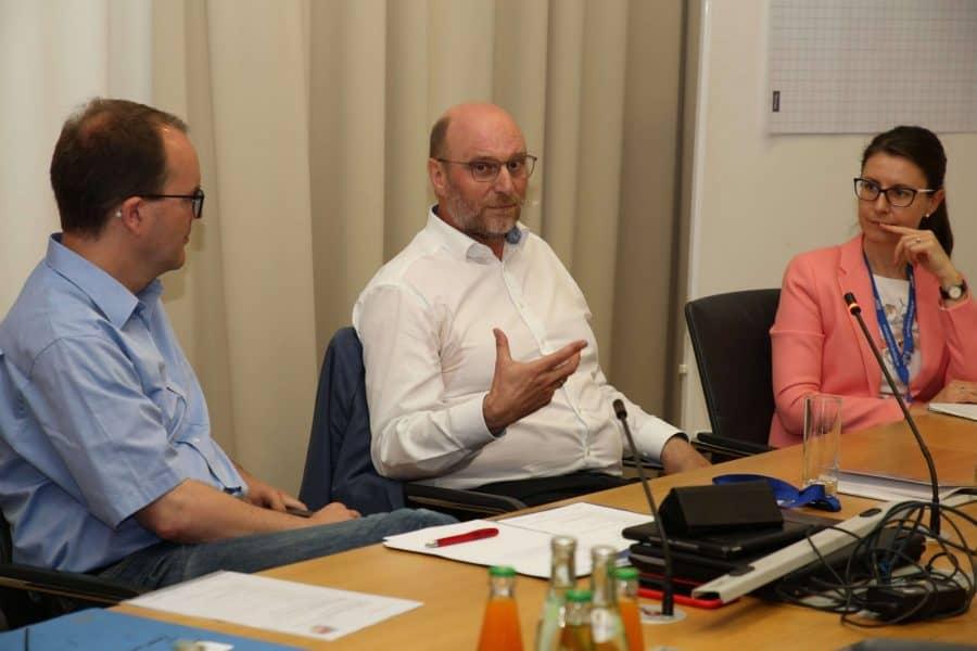 Gespräch mit Fraktionsvorstand der BayernSPD