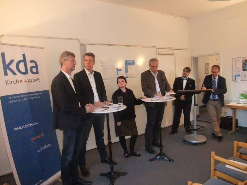 Zur Zukunft der Arbeit in Zeiten der Digitalisierung. Politisches Podium zur Landtagswahl