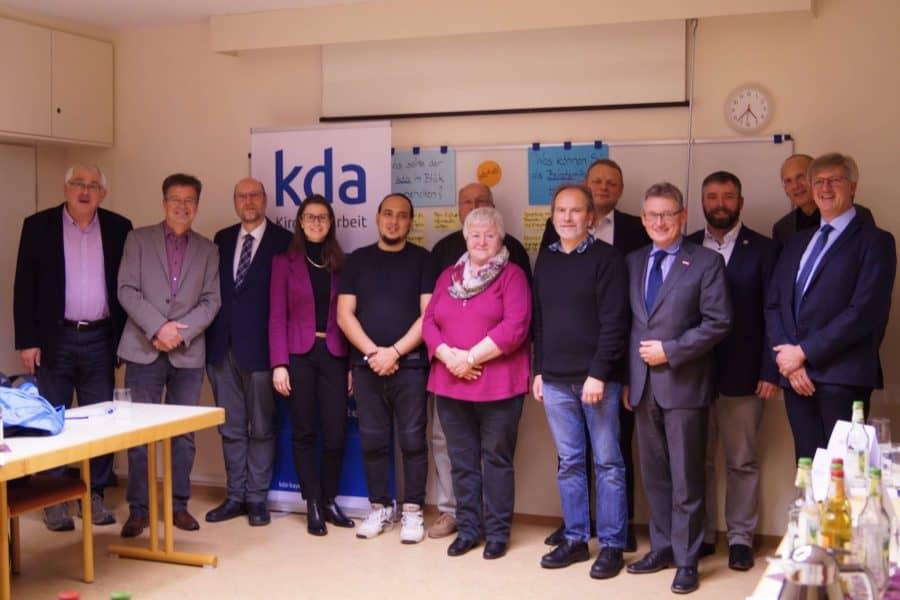 Projekt start-ab! stellt sich dem kda-Beirat vor